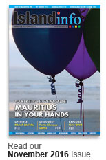 Mauritius Online Magazine November 2016 Issue